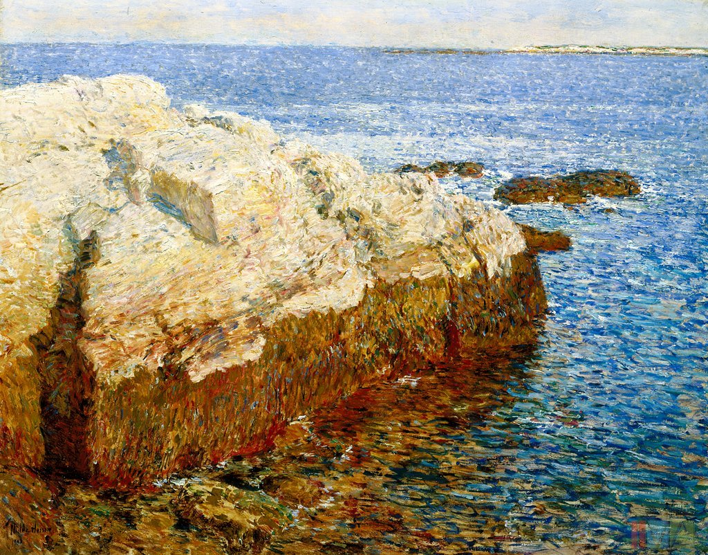 Childe Hassam, 'Cliff Rock - Appledore', 1903