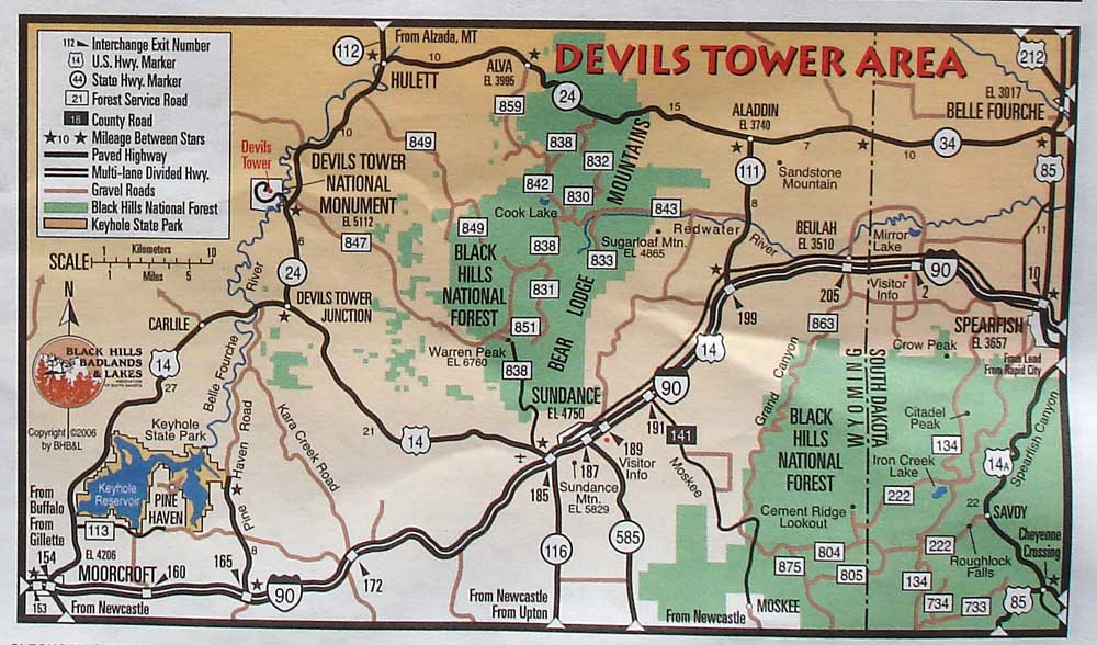 Just in case devils tower relief map devils tower area map publicscrutiny Choice Image