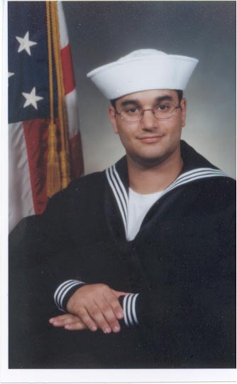 James in the Navy